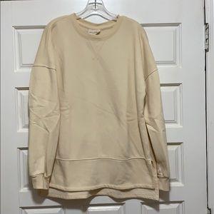 Cream sweatshirt